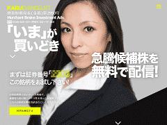 株エヴァンジェリストのサイト画像